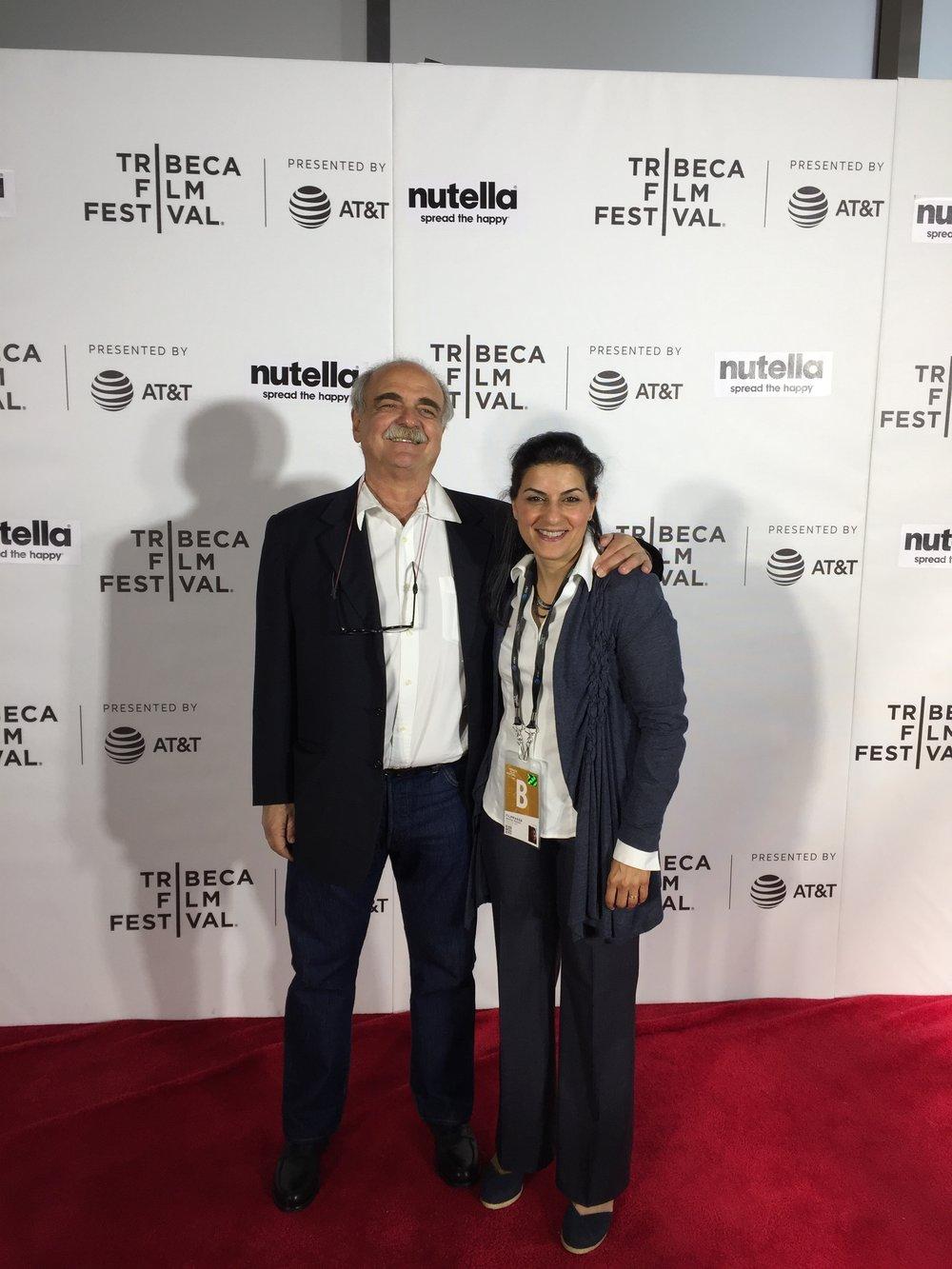 Franco Pagetti and Aeyliya Husain (Director/Producer)
