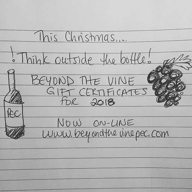 Gift certificates now avail on-line!