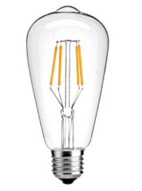 Edison bulb from Amazon