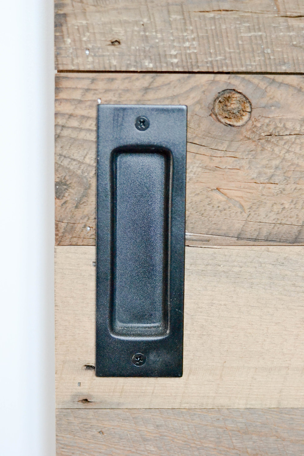 Gray Oak Studio Pilgrim Project Office barn door hardware