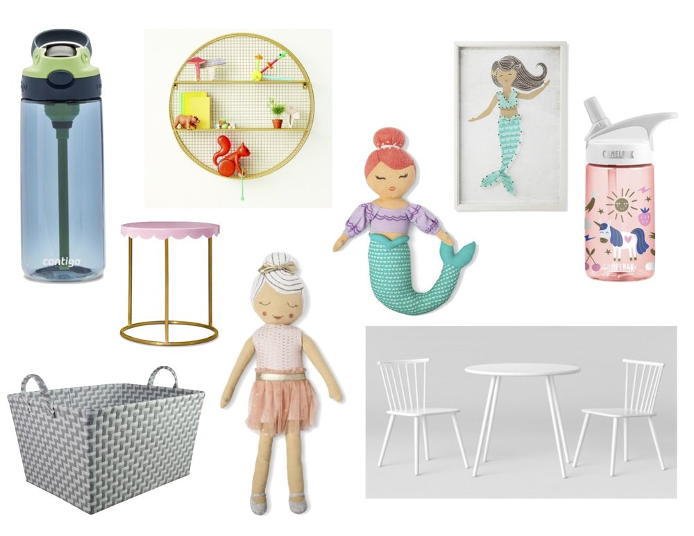 Gray Oak Studio Target Kids Furnishings and Decor Roundup