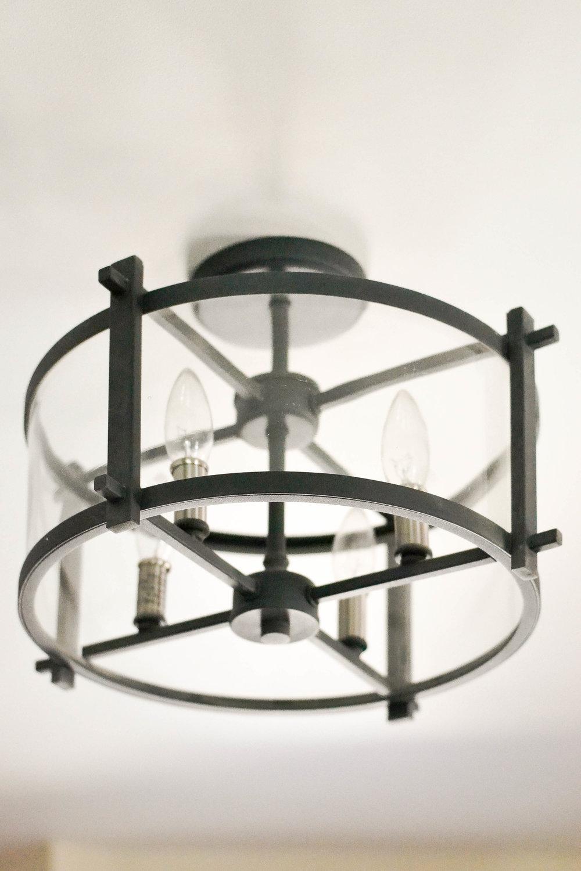 Gray Oak Studio - Pilgrim Project Mudroom light fixture