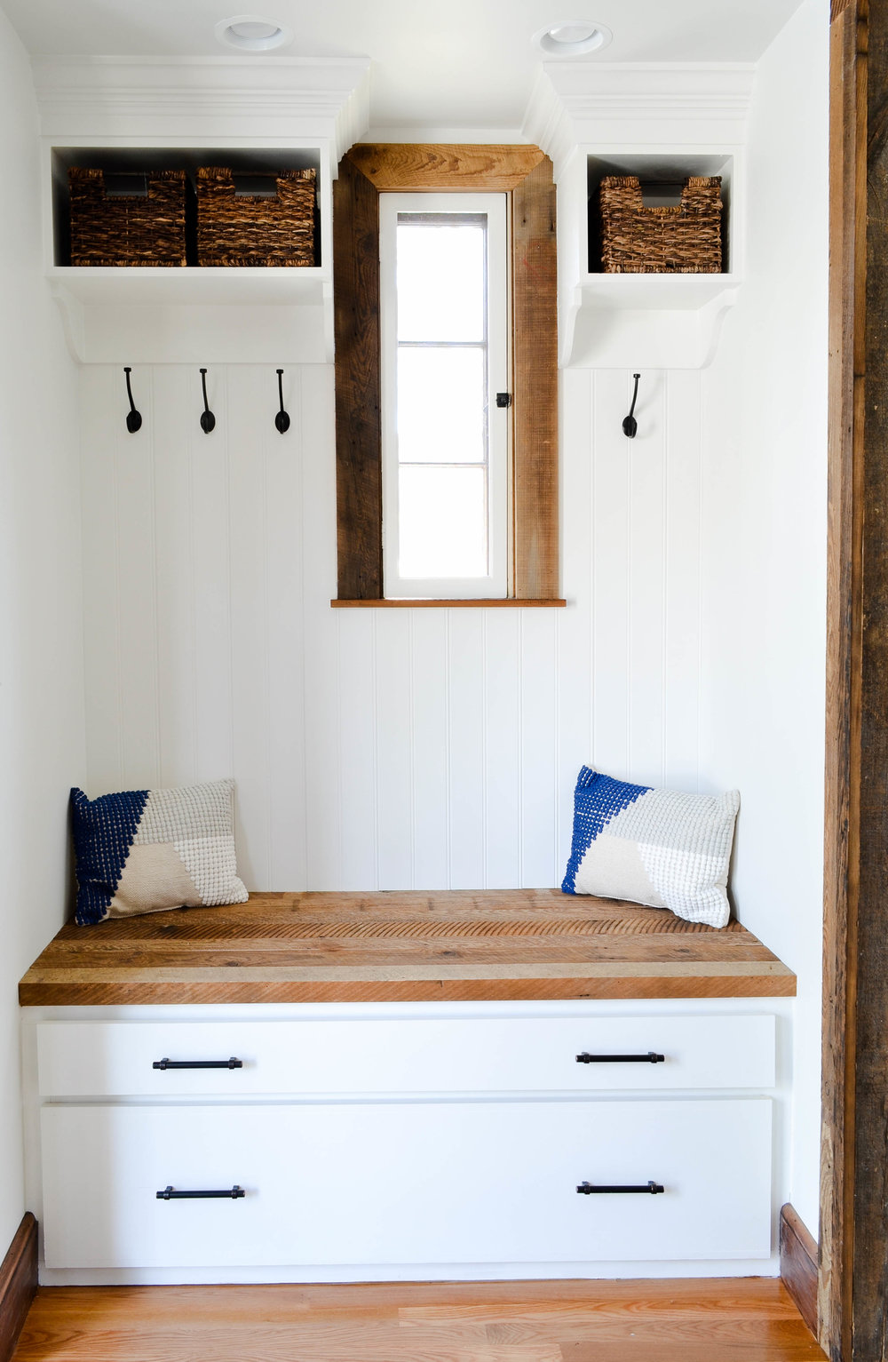 Gray Oak Studio Pilgrim Project Mudroom