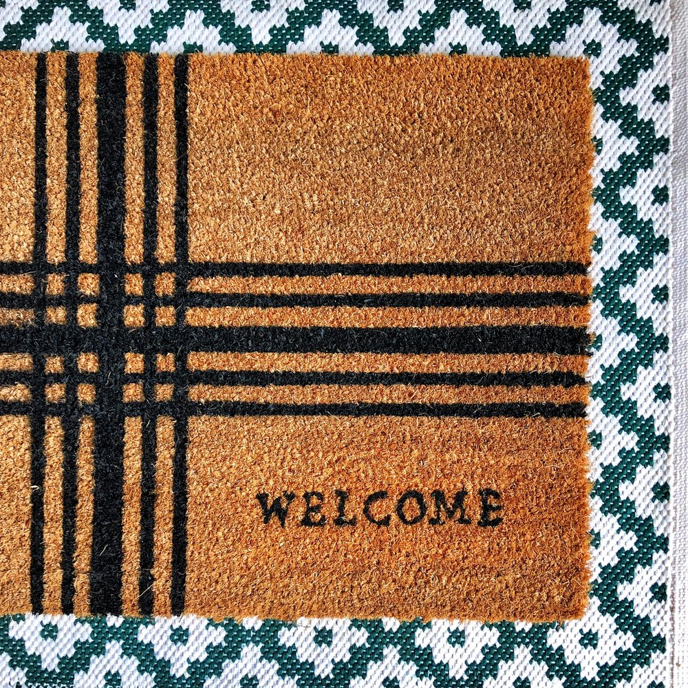 Leah's welcome mat.JPG