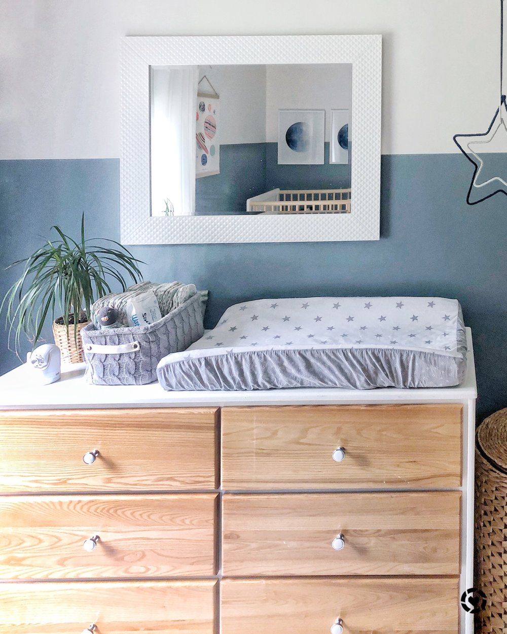 Gray Oak Studio - Outerspace neutral nursery