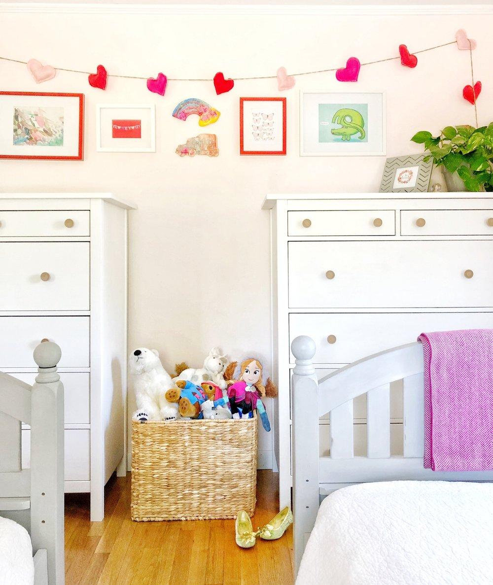 Gray Oak Studio - Girls Bedroom Free Art