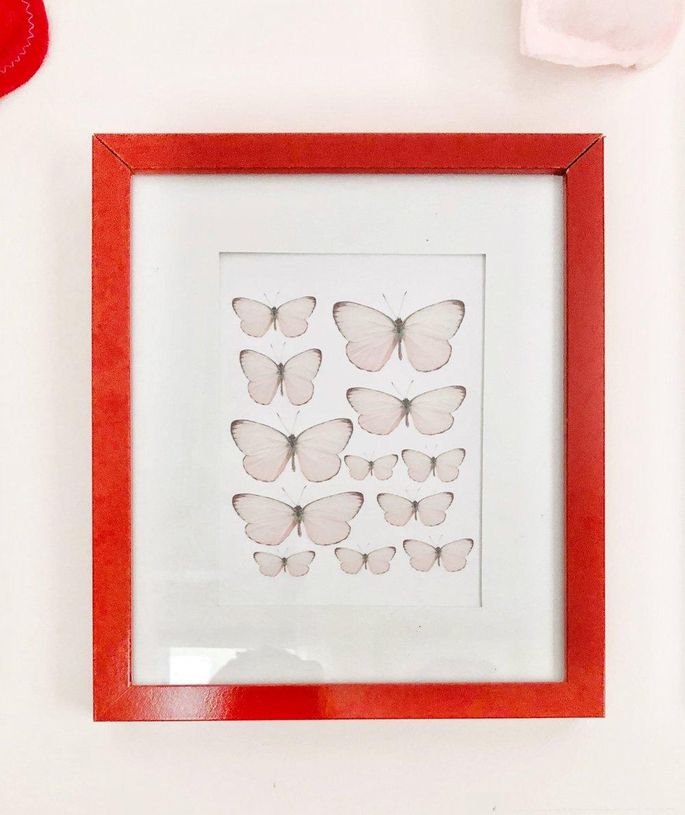 Gray Oak Studio - Free butterfly print from Pinterest