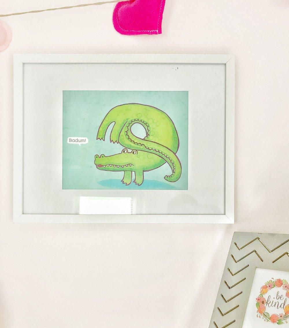 Gray Oak Studio - Free art for kid's bedroom children's book