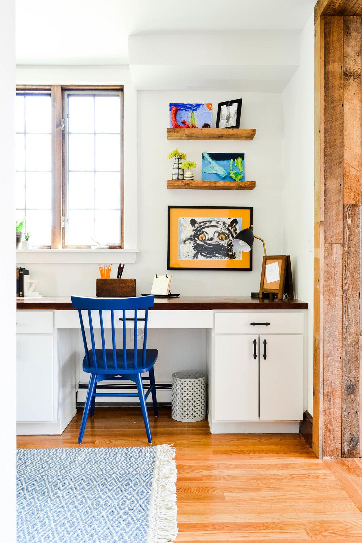 Gray Oak Studio - Portfolio - Pilgrim Office Homework Room