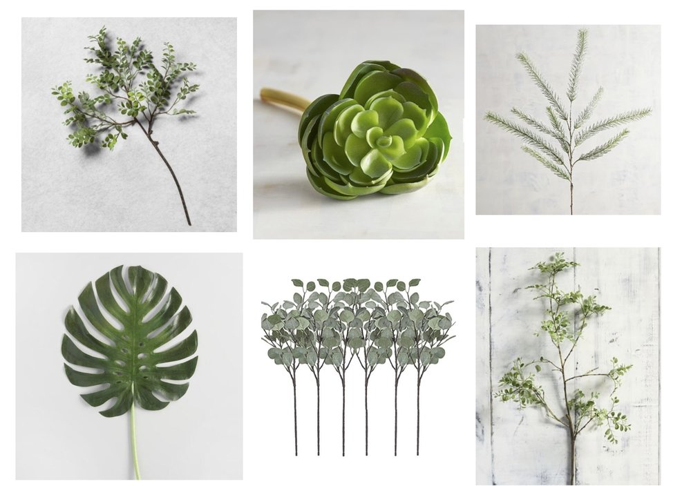 Gray Oak Studio - Wednesday Five - Faux Stem Roundup
