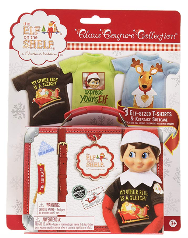 Gray Oak Studio - Wednesday Five - Elf on Shelf Accessories
