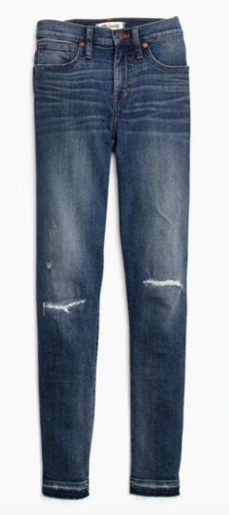 Gray Oak Studio - Wednesday Five - Favorite Madewell Jeans