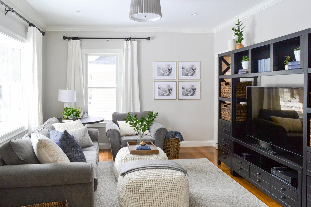Gray Oak Studio - Hutchins Project Family Room Reveal