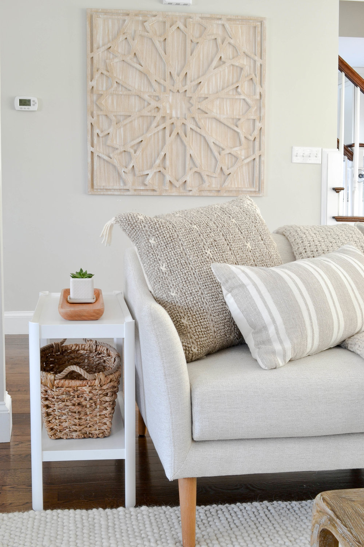 Gray Oak Studio - Lowell Project Living Room - Knit Pillow