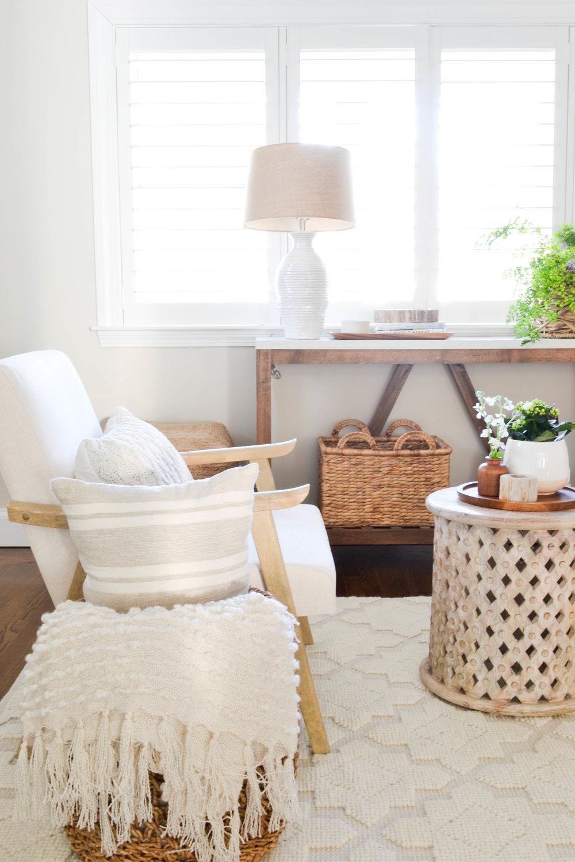 Gray Oak Studio - Lowell Project Living Room - Open armchair