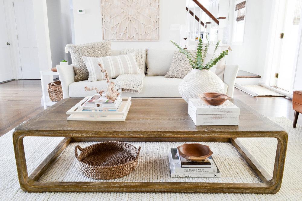 Gray Oak Studio - Lowell Project Living Room - Coffee Table