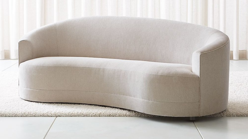 Gray Oak Studio - High Point Spring 2019 - Curved Sofa Trend