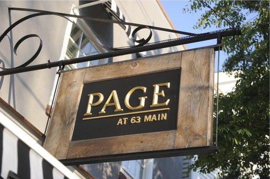 Page At 63, 63 Main St, Sag Harbor