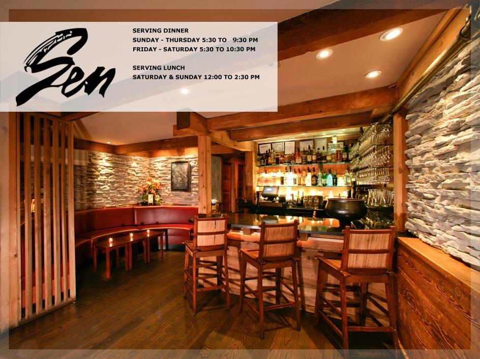 Sen Restaurant 23 Main Street, Sag Harbor