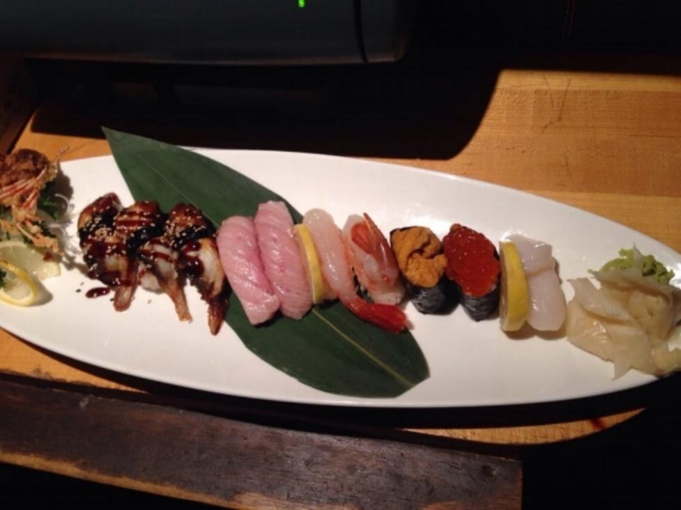 Sushi Plate at Sen's