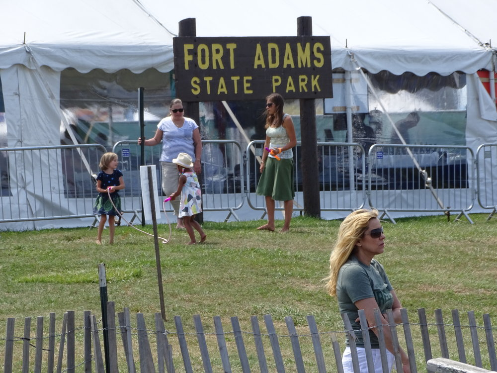 FT ADAMS STATE PARK, HOME OF THE NEWPORT JAZZ FESTIVAL!