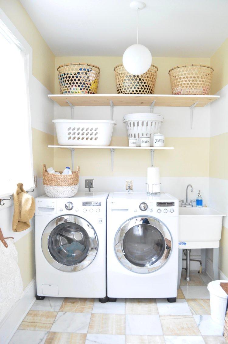 white and gold kitchen — erin jackson larkin interiors