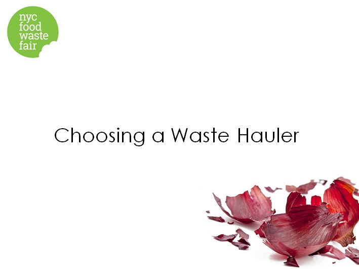 Choosing a WasteHauler  - NYC Business Integrity Commission