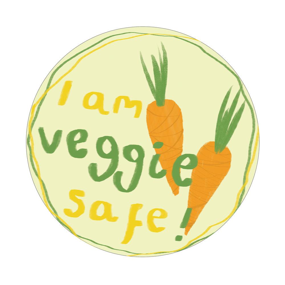 Vegetariansticker