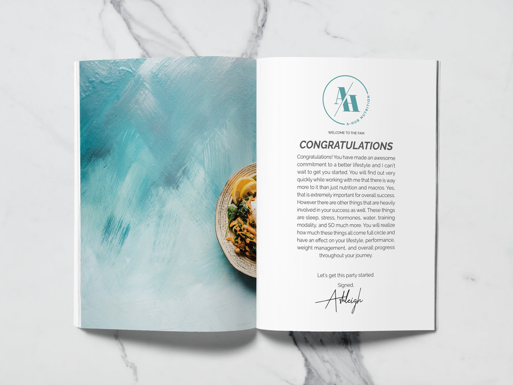 Welcome Packet Design