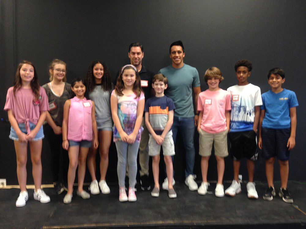 2017 Dallas Acting Intensive - Our Campers with Guest Instructor Matthew Morgan!