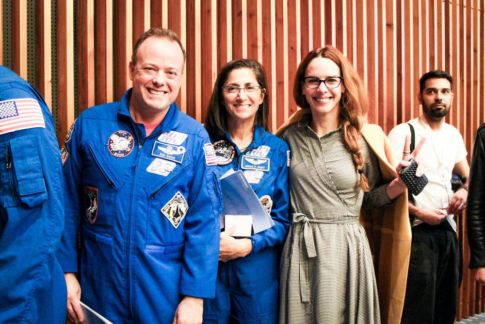 Ron Garan y Nicole Stott, Astronautas NASA. Constellation Foundation.