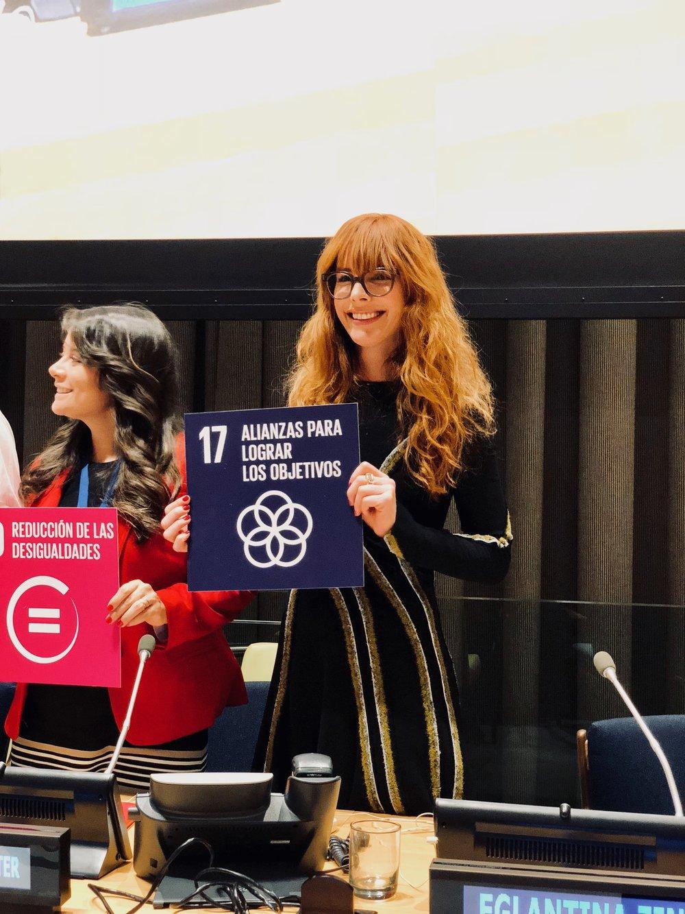 Promesa de objetivos de desarrollo sustentable SDG's