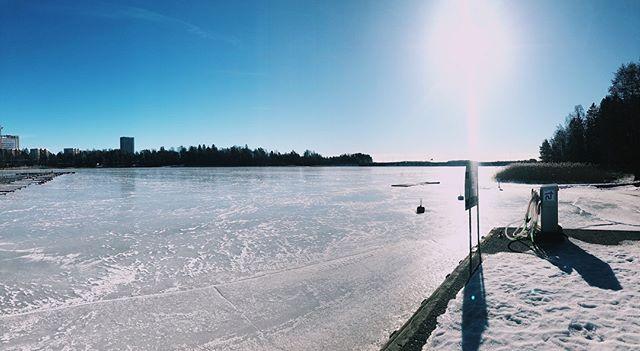 Aurinkoista lauantaita Otsolahdesta!☀️ #espoo #otsolahti #tapiola #finland