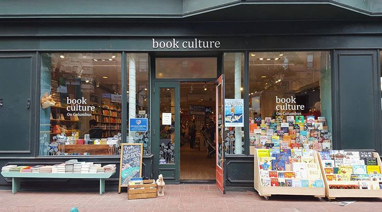 Book Culture on Columbus   -  450 Columbus Ave.between 81st St. and 82nd St.New York, NY 10024   MORE DETAILS HERE