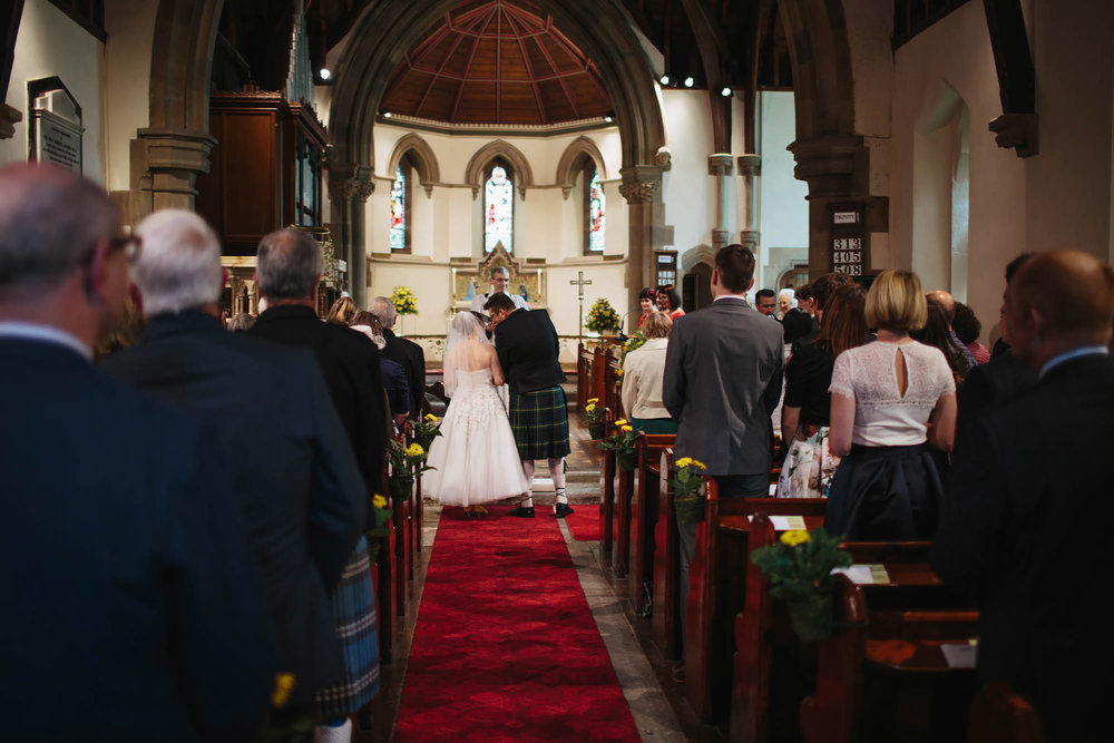 Leeds Yorkshire Wedding Photographer Church Ceremony