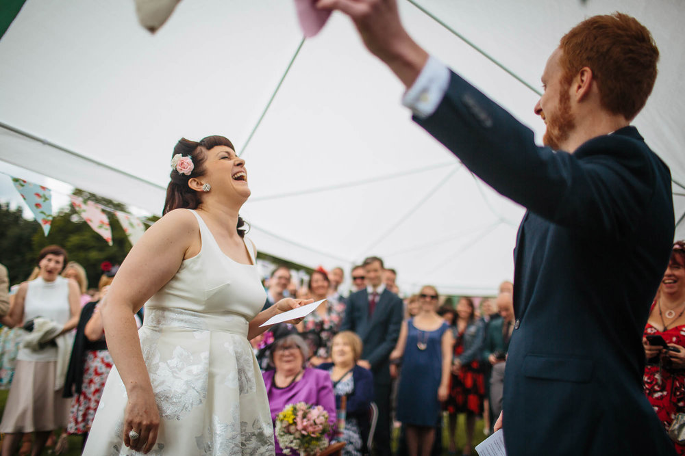 Leeds Yorkshire Wedding Photographer Laugh Funny