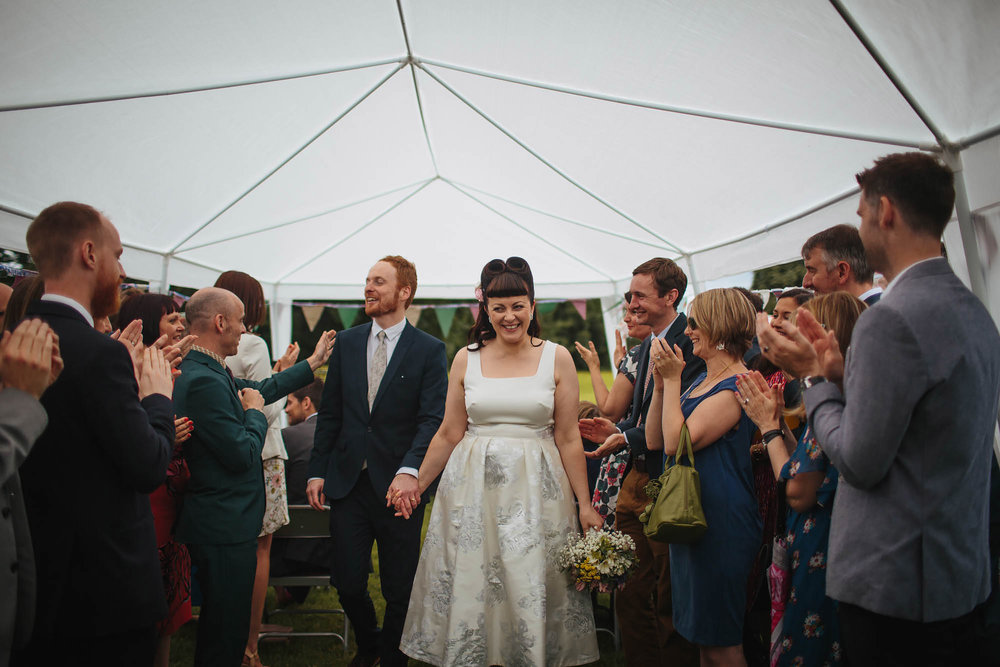 Leeds Yorkshire Wedding Photographer Married Bride Groom Smile