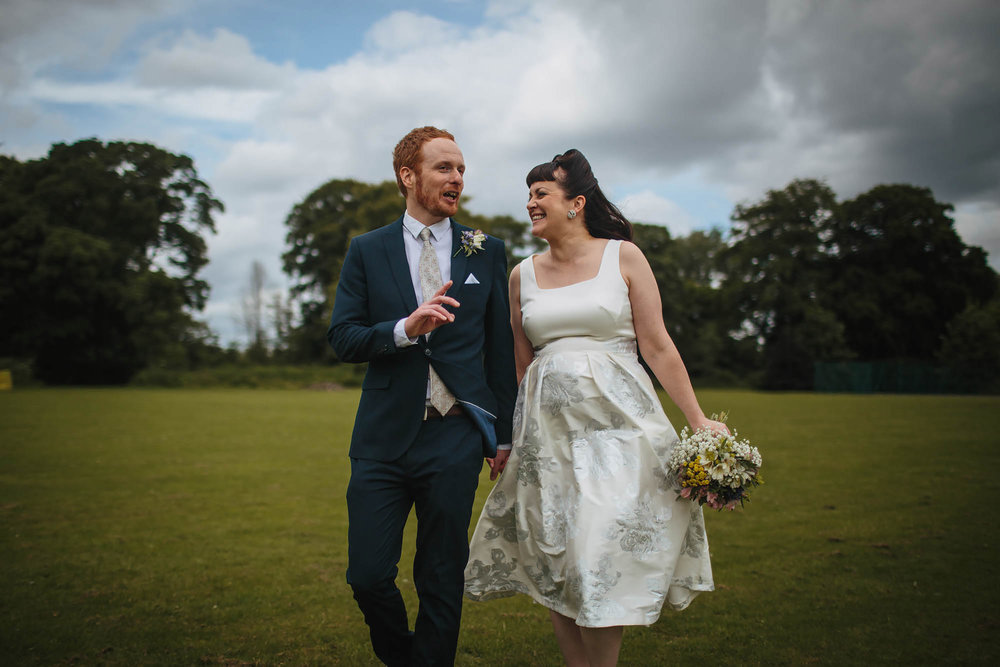 Leeds Yorkshire Wedding Photographer Laughing Portrait