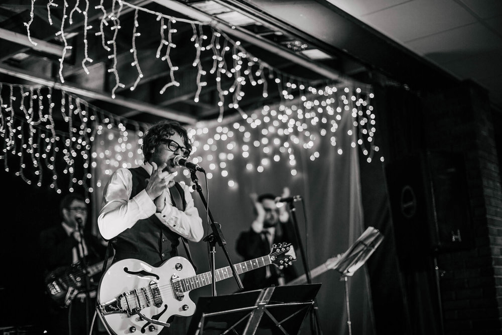 Leeds Yorkshire Wedding Photographer Guitarist Band Party