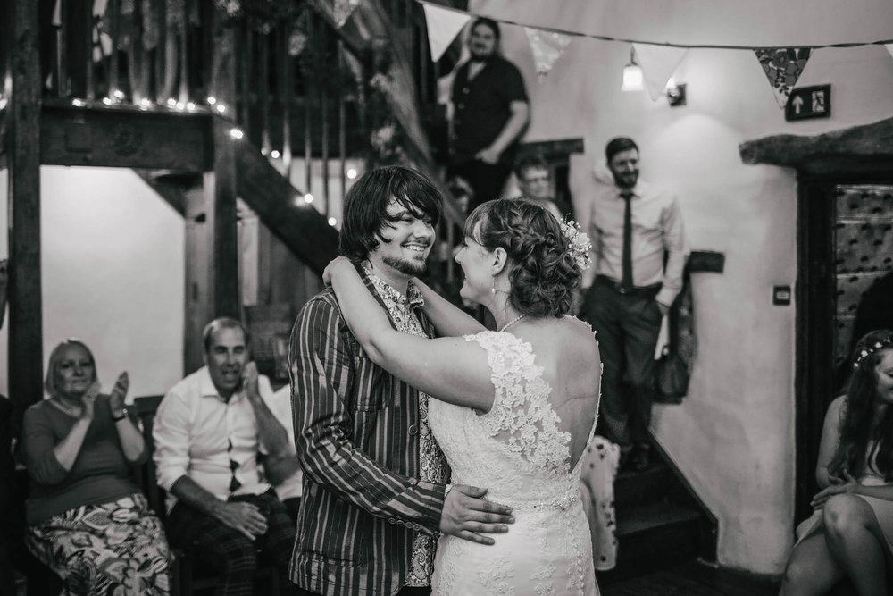 Leeds Yorkshire Wedding Photographer First Dance Bride Groom