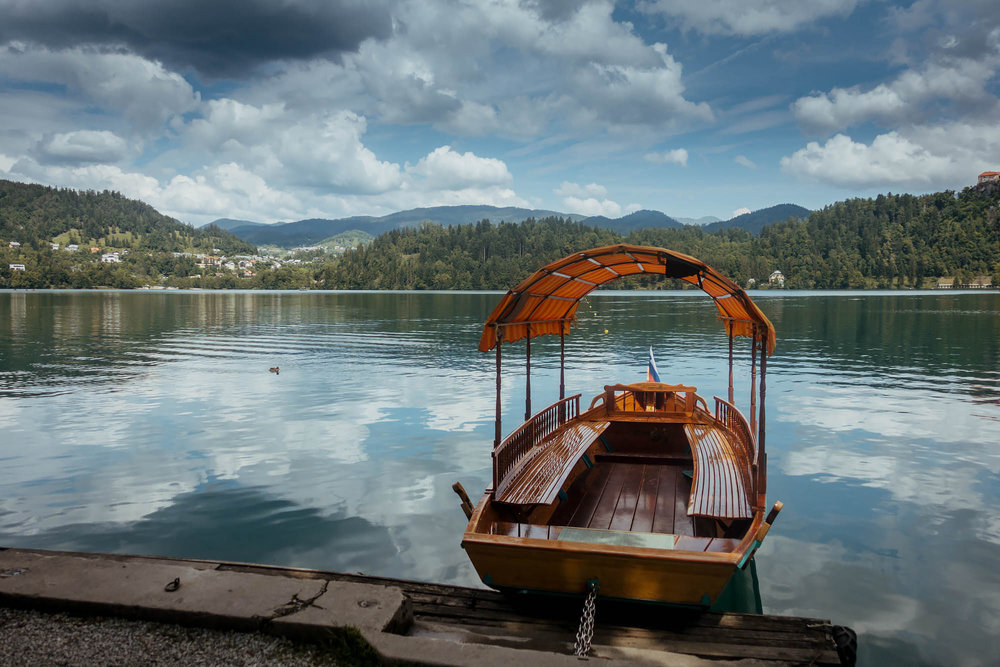Lake Bled Boat
