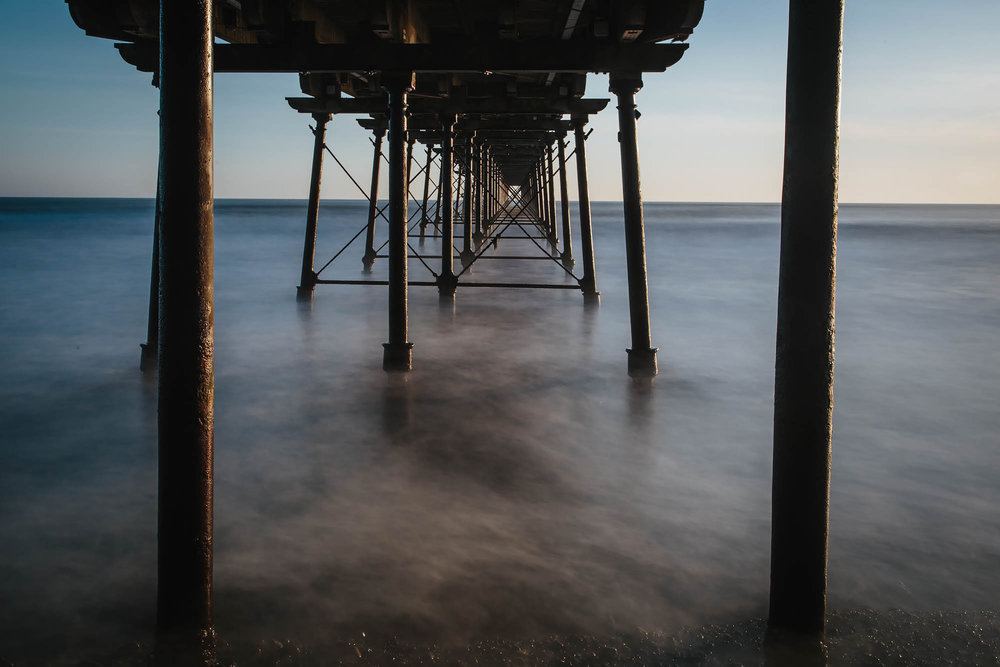 Saltburn-by-the-Sea Pier From Below