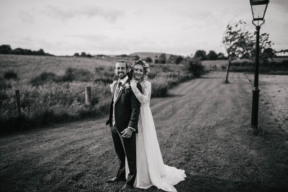 Leeds Yorkshire Wedding Photographer Bride Groom Happy Love Portrait