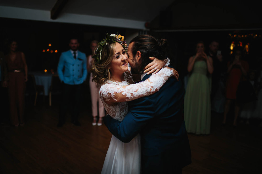 Leeds Yorkshire Wedding Photographer Bride Groom First Dance Love Happy