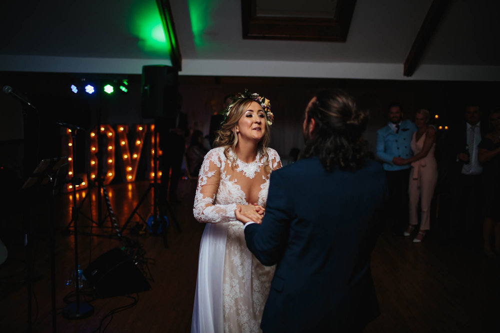 Leeds Yorkshire Wedding Photographer Bride Groom First Dance Love
