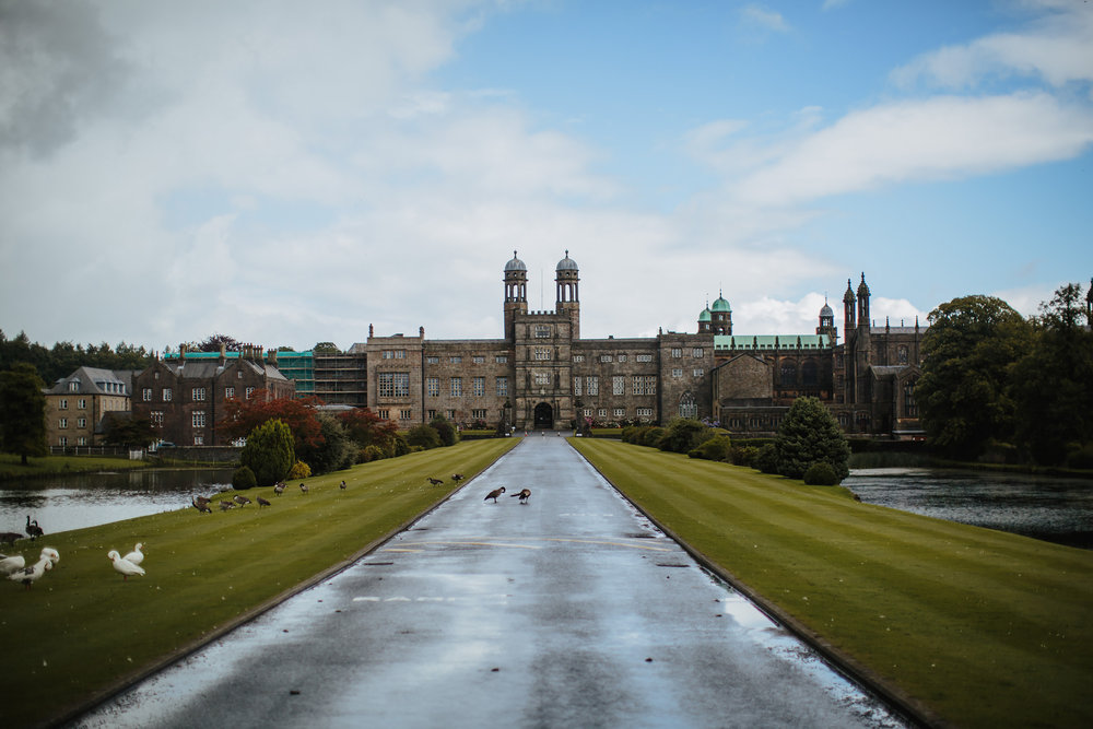 A wedding at Stonyhurst College Lancashire