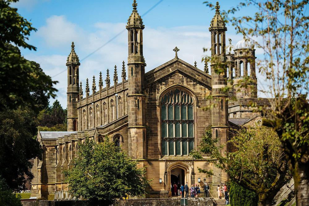 St Peters Church at Stonyhurst College