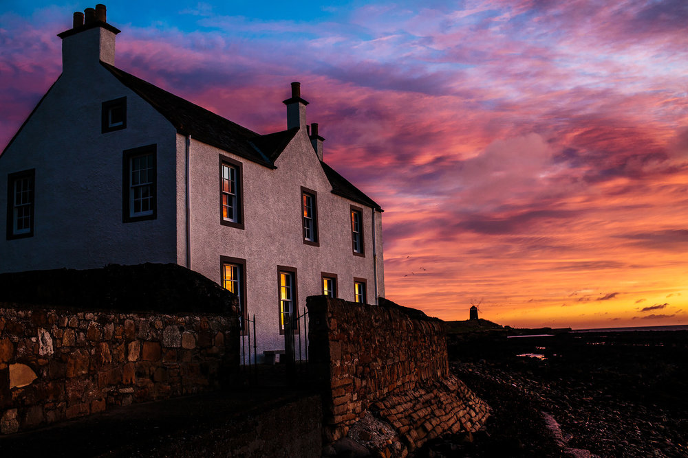Pittenweem House At Sunrise