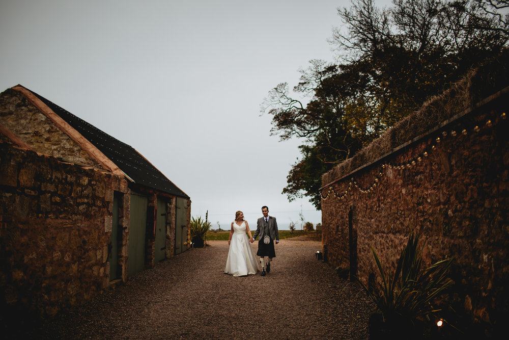 Wedding at Cow Shed Crail Scotland