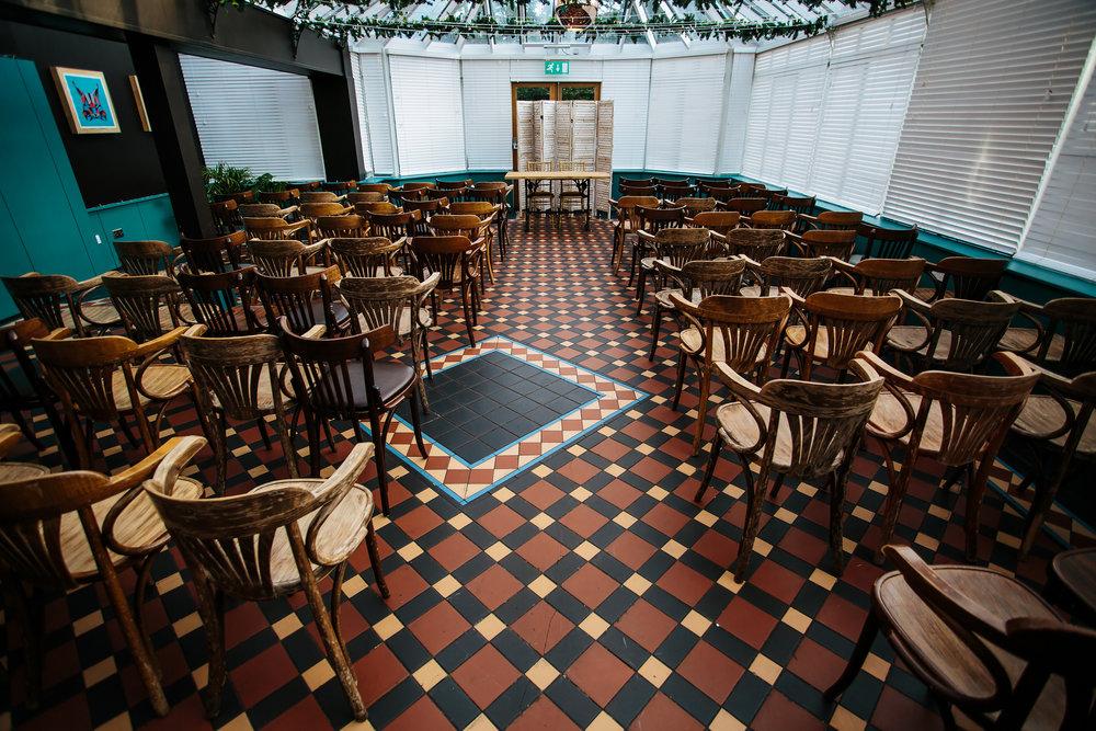 Ceremony Room at The Faversham Leeds Wedding
